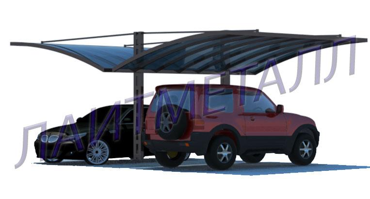 консольные навесы для автомобилей фото